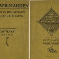 Magazine Covers--Pre-1920--Part 2 (Das Plakat)