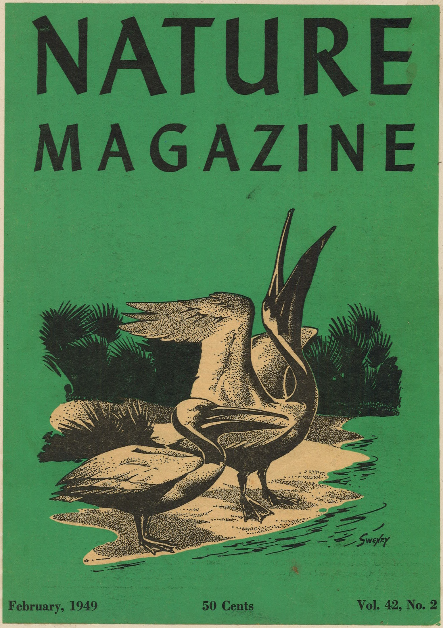 nature magazine 1949 covers february artist american periodicals sva library january sweney 1940 illustration collections lastly mysterious textured svapicsandmags