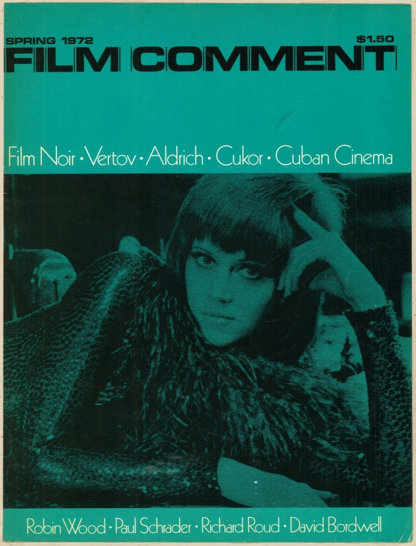 Film Comment Spring 1972