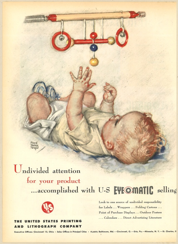 Fortune Magazine, July 1949. UPLS (The United States Printing and Lithograph Company).