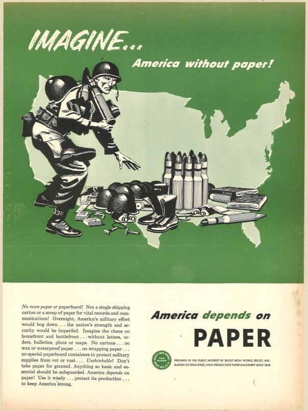 Fortune Magazine, July 1951. Beloit Iron Works.