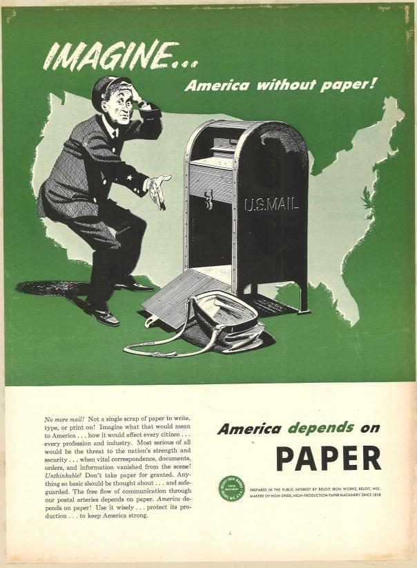 Fortune, July 1951. Beloit Iron Works.