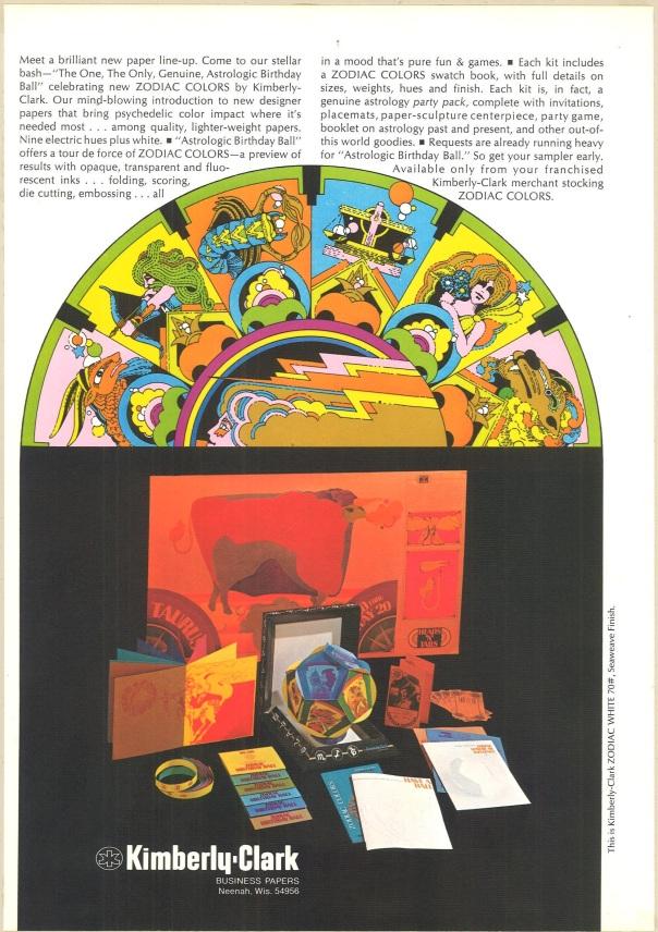 Communication Arts, v. 13, n. 1 (1971). Kimberly-Clark.