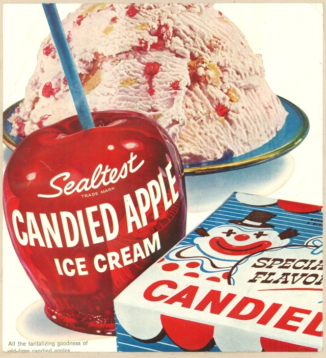 Sealtest Candied Apple Ice Cream. 1956