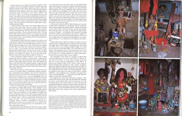 African Arts, Volume XXI, Issue Number 02. February 1988. In the Mami Wata Shrine of Dr. Alphonsus Njoku. Photos: Margaret and Henry Drewal.