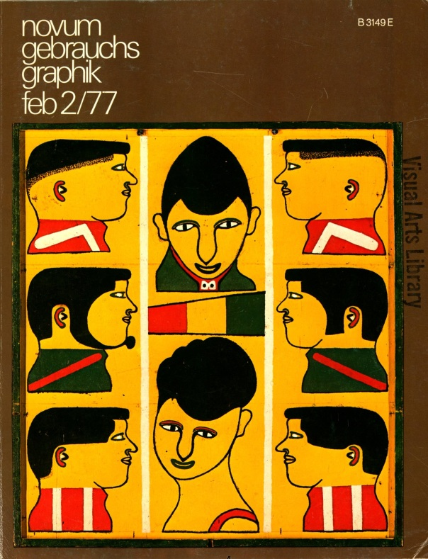 Novum Gebrauchs Graphic. February 1977.