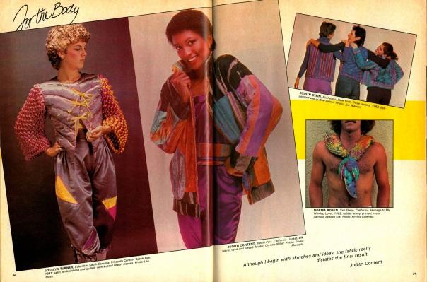 FiberArts. January/February 1983.