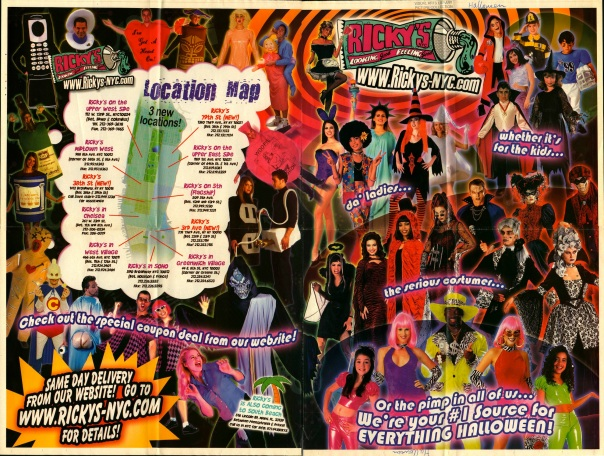 Ricky's Poster Advertisement, 2003.