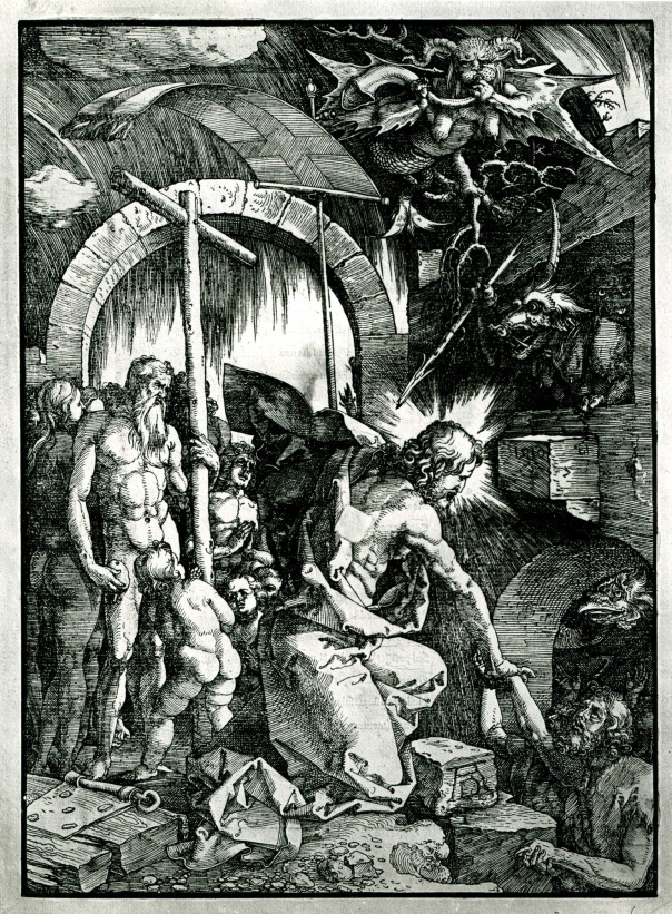 Dürer, the harrowing of hell, 1512