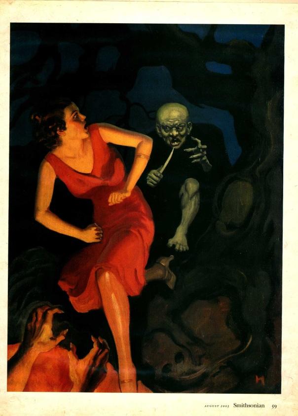 Illustration CA. 1910-1919, reprinted in Smithsonian Magazine, 2003