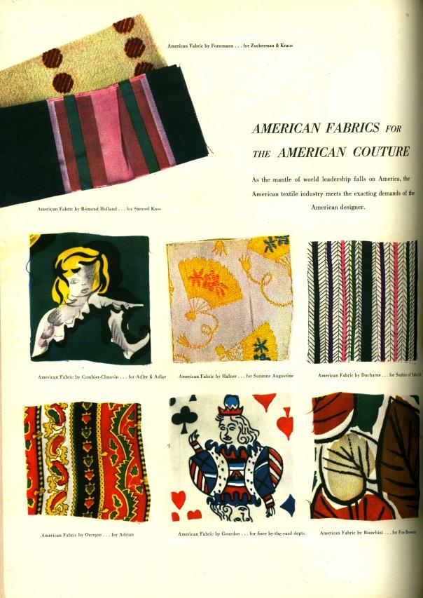 American Fabrics, Number 2. 1947.
