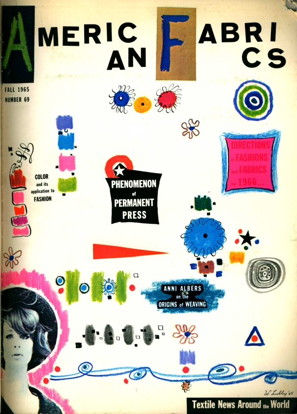 American Fabrics, Number 69. Fall 1965.