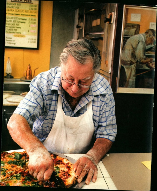 9 (back cover, Di Fara Pizza, Domenico DeMarco)