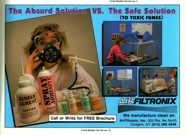 Airbrush Action. May-June 1989.