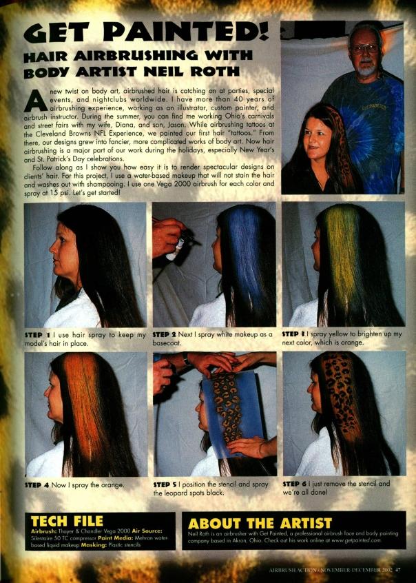 Airbrush Action. November-December 2002.