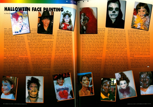 Airbrush Action. September-October 1994.