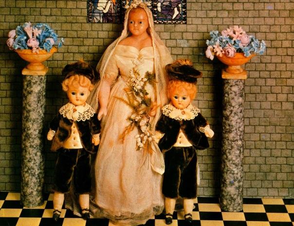 1855 & 1875 Wax Dolls
