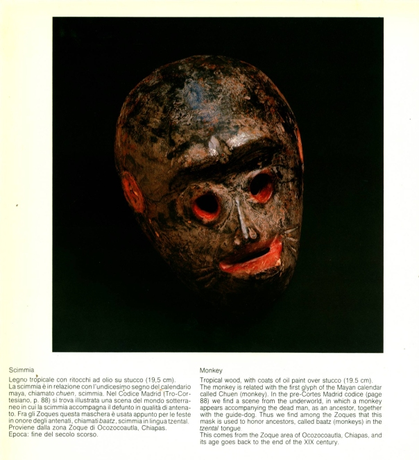 """Maschere de Messico"" (Masks of Mexico), 1981."