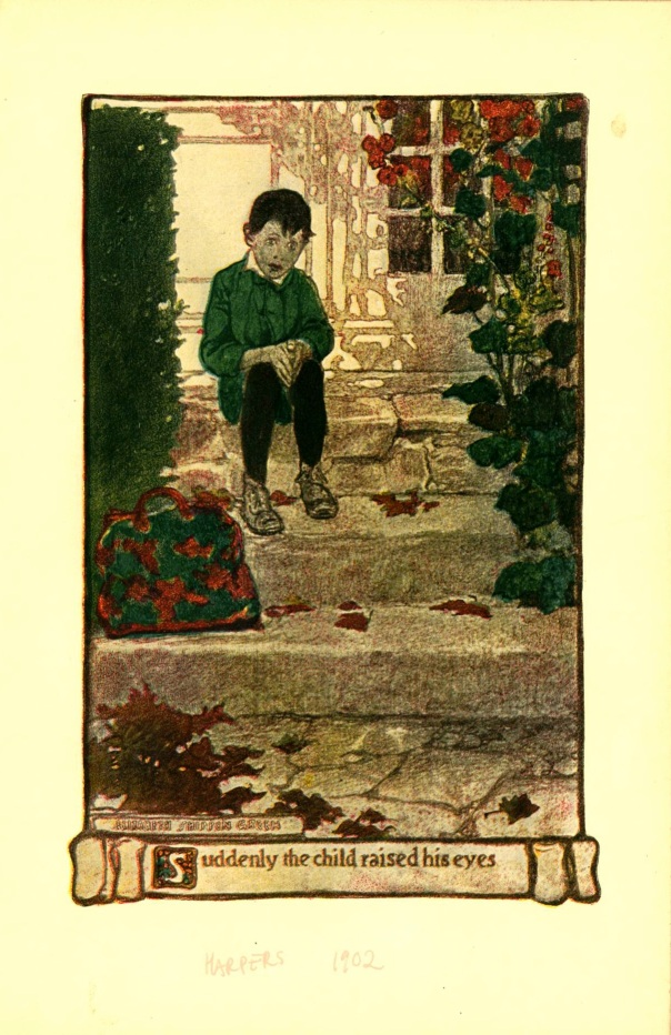 Harper's, 1902. Illustration by Elizabeth Smippen Green