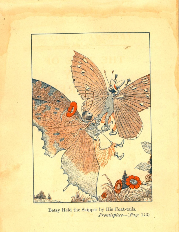"""The Tale of Betsy Butterfly"", 1918. Written by Arthur Scott Bailey  Illustrated by Harry L Smith"