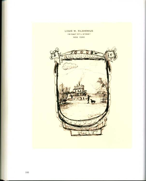 Ron Morosan, Louis Eilshemius Drawings (Issue #1)