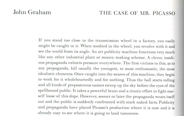 John Graham, The Case of Mr. Picasso (Issue #3)